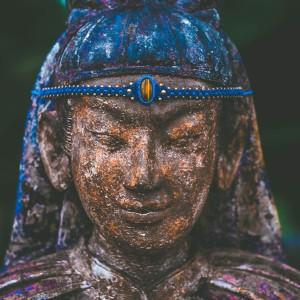 headband-macrame-blue